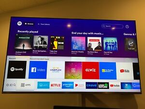 49 inch Samsung Q 6 series TV lightly used for 2months