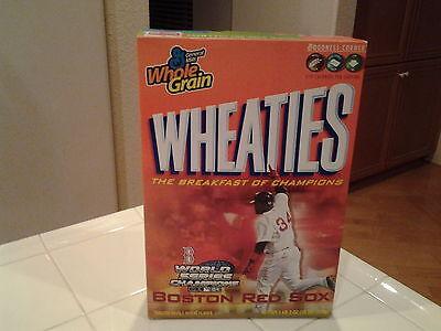Boston Red Sox World Series Champions Wheaties Box Unopened