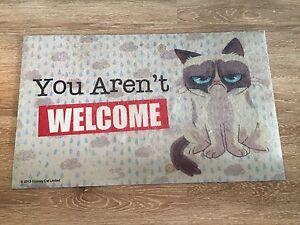 Grumpy Cat door mat