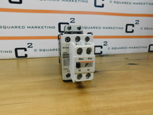 Fuji Electric FA SE09AG Magnetic Contactor With SZ-A11/T Contactor Used CSQ