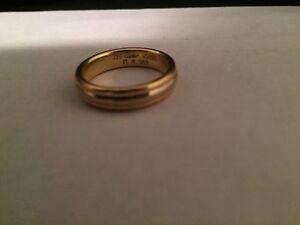 Men's Gold Ring / Wedding Band