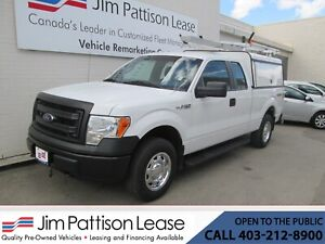 2013 Ford F-150 5.0L 4X4 XL Ext. Cab w/ Contractor Canopy