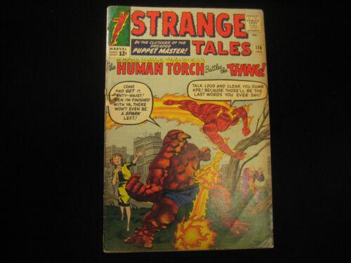 Strange Tales #116 (1964, Marvel) Low Grade