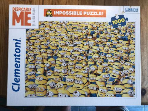 Minion - Ich einfach unverbesserlich, Clementoni, Puzzle 1000 Teile, Impossible