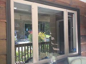 Wood 1950's window