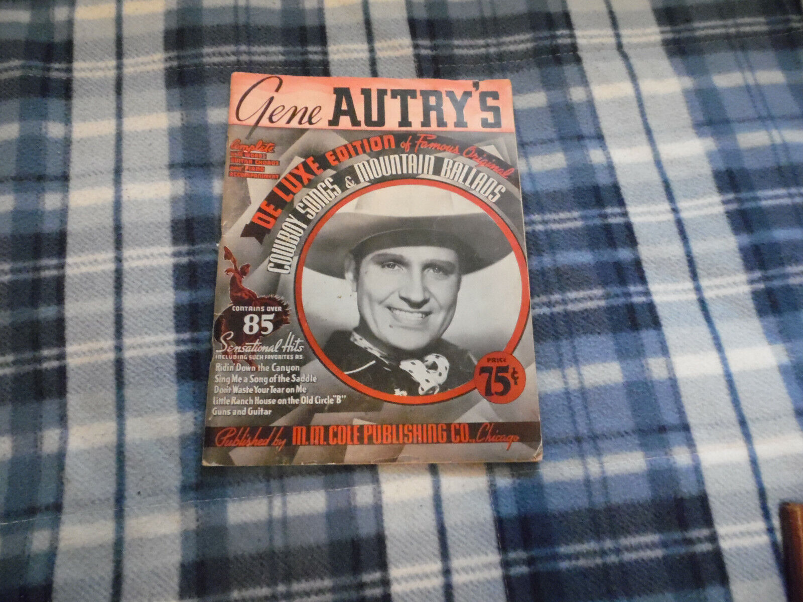 Gene Autry Sings Deluxe Edition Cowboy Songs Mountain Ballads - $5.00