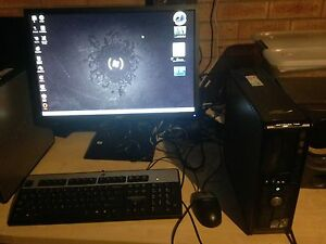 """Dell desktop with a 22"""" widescreen monitor Charnwood Belconnen Area Preview"""