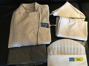 George Brown Used Chef Clothing