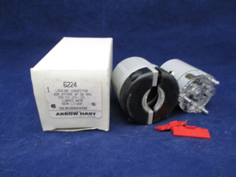Arrow Hart 6224 Locking Connector new