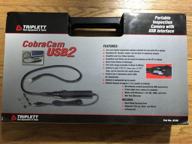 Triplett Cobra Cam Model 8105 - Brand new in hard carrying case
