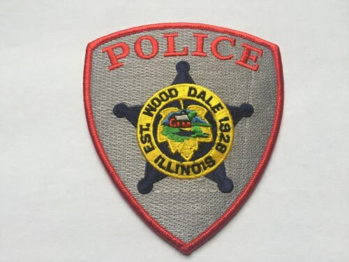 Wood Dale ILLINOIS Police Patch