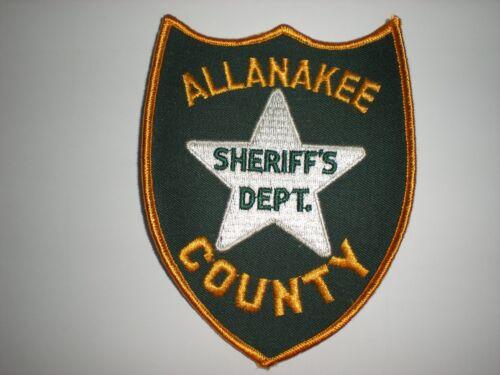 ALLANAKEE COUNTY IOWA SHERIFF