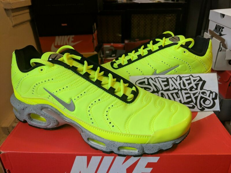 Nike Air Max Plus TN Tuned QS Premium PRM Full Volt Matte