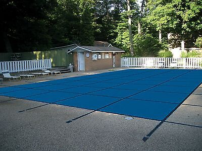 Water Warden Mesh Safety Pool Cover All Sizes Blue Green 15 Yr Warranty  ()