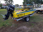 90HP Ski Boat - REGRETFUL SALE!!!! 12 months rego Kingsthorpe Toowoomba Surrounds Preview