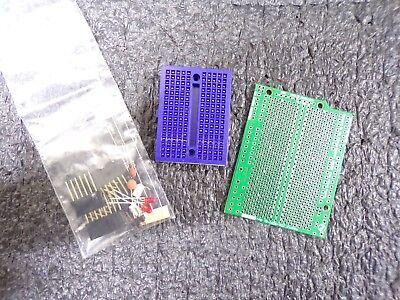 Arduino Through Hole Proto Shield W Components And Breadboard 206-0002-02ts
