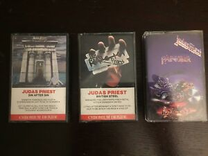 Judas Priest Cassette Tapes
