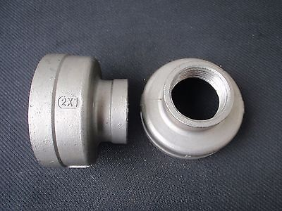 Stainless Steel Reducer Coupling 2 X 1 Npt Pipe Rc-200-100