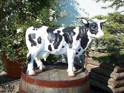 VERONIKA Faire Milch KUH XXL groß Tier Figur Garten Deko BAUERNHOF Werbung Kalb