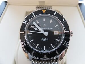 Eterna Heritage Super KonTiki Limited Edition 1973 Classic Diving/Diver Watch
