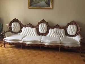 Antique Living Room Set - Sofa Set - Coffee Tables