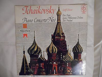 TCHAIKOVSKY PIANO CONCERTO NO 1 PETER KATIN (PIANO) LP