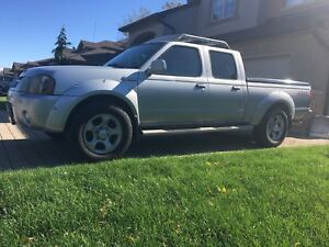 2003 Nissan Frontier 4x4 Crew Cab Supercharged.