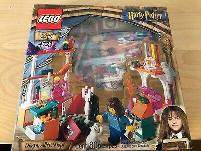 LEGO Harry Potter Diagon Alley Shops (4723) RARE 2001