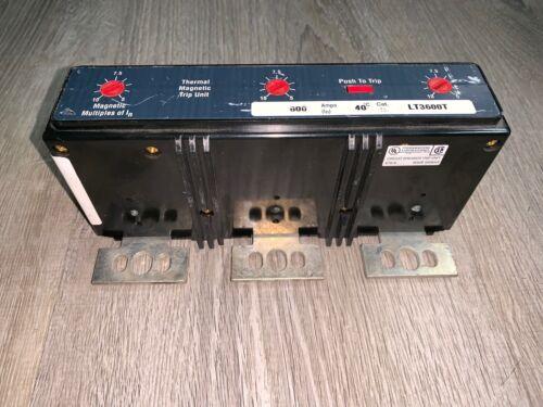 Pre-Owned Eaton Circuit Breaker Trip Unit (#LT3600T)
