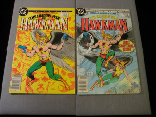The Shadow War Of Hawkman #1 and #2 (DC 1985)