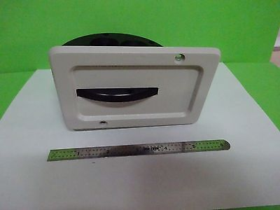 Microscope Polyvar Reichert Leica Filter Wheel Assembly Optics As Is Binw2-08