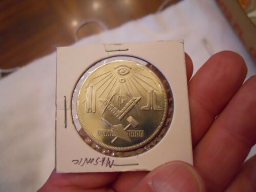 MASONIC TOKEN COIN FOR ANY LODGE OR MEMBER