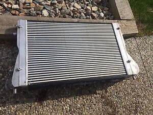 Audi S3 replica intercooler w/ Tiguan boost tubes