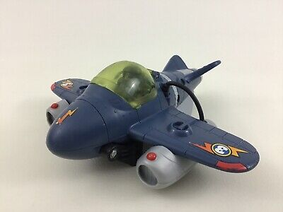 Imaginext Sky Racer Twist Airplane #3 Toy with Figure and Mask Fisher Price 2009