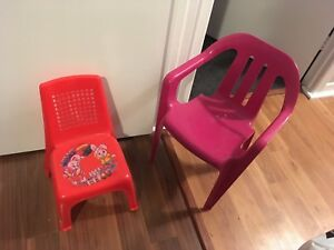 Child size Plastic Chairs