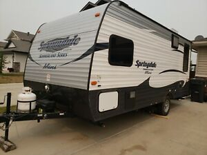 Holiday trailer rental for family