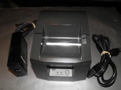 Star Micronics Tsp 600 613c Pos Thermal Receipt Printer Usb W Power Supply
