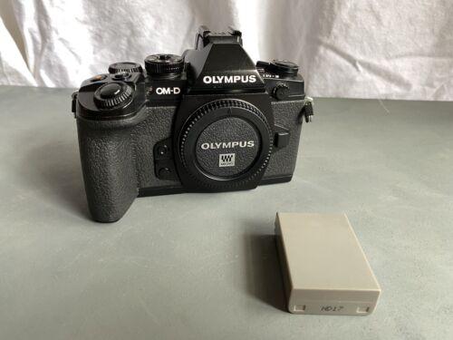 Olympus OM-D E-M1 16.3MP Digital Camera - Black M4/3 MFT W/ Flash Acc Kit - $270.00