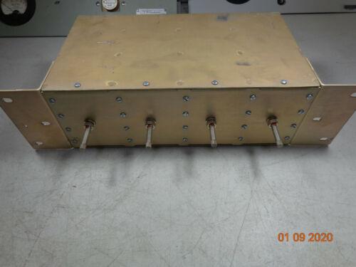 EMR UHF Radio repeater Band pass cavity duplexer 65534 w/brackets tuned 460.300