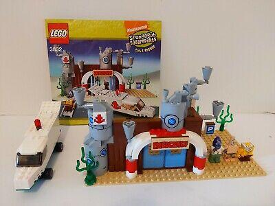 Lego Set 3832 SpongeBob SquarePants The Emergency Room Instructions READ BELOW