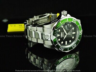 NEW Invicta 300M Men's 47mm Grand Diver Automatic Movmt SS Bracelet Watch