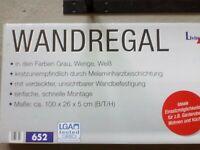 Wandregal mit Halterung Sachsen - Wildenfels Vorschau