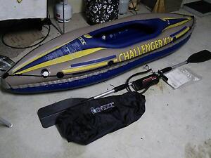 Intex Challenger K1 Kayak Fennell Bay Lake Macquarie Area Preview