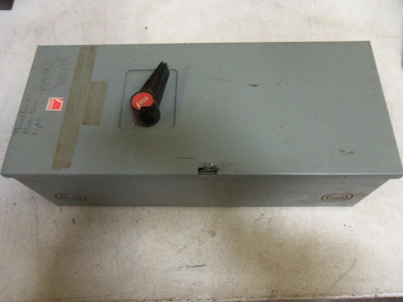 FEDERAL PIONEER 1136 DISCONNECT SWITCH *USED*