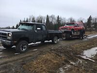 Moving, Towing,Hauling, Delivery, Flat Bed Trailer Services