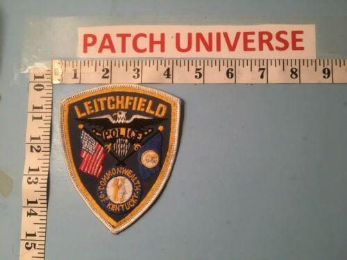 VINTAGE LEITCHFIELD  KENTUCKY  POLICE  SHOULDER  PATCH  O096