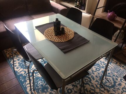 Dining table and Chairs - 4 seater