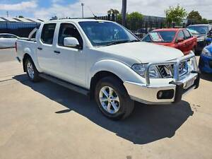 2012 Nissan Navara ST D40 Duel Cab Ute TURBO DIESEL 4X4 LOW KMS Williamstown North Hobsons Bay Area Preview