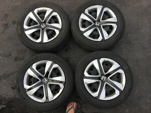 Civic 2017 LX OEM Rims and Tires 215/55/R16 H93 Hankook