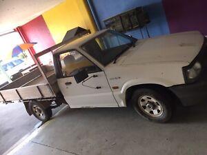 MAZDA BRAVO Ute 1998 aluminium tray , $1250
